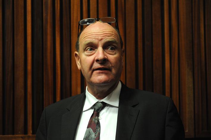Forensic investigator Paul O'Sullivan. Picture: Werner Beukes/SAPA