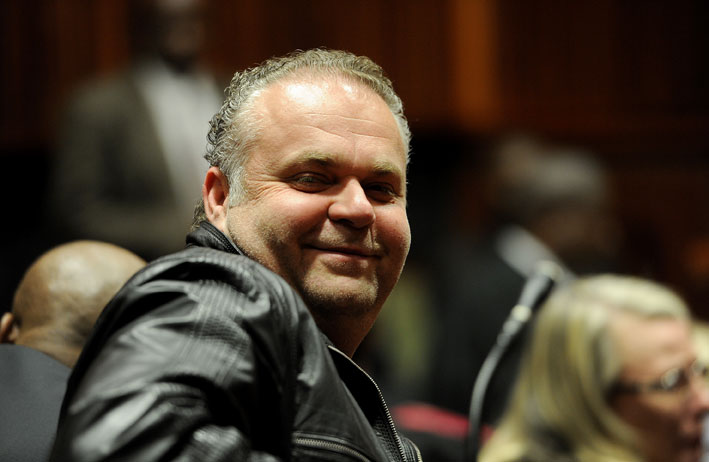 FILE PICTURE: Czech fugitive Radovan Krejcir. Picture: Werner Beukes/SAPA