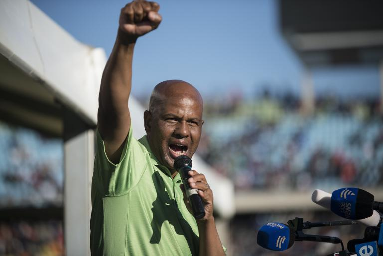 FILE PICTURE: Amcu union leader Joseph Mathunjwa. Picture: AFP