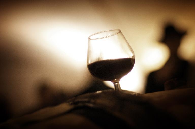 Dump the cognac and drink brandy