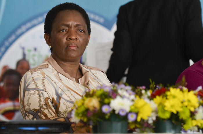 Minister of Social Development, Bathabile Dlamini. Picture: Alaister Russell