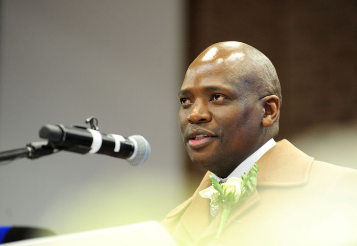 FILE PICTURE: SABC acting chief operations officer Hlaudi Motsoeneng. Picture: Tracy Lee Stark