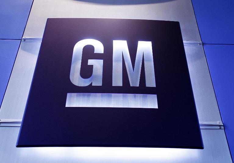 General Motors logo. Picture: AFP