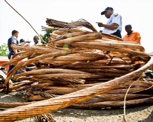 File picture: Stolen copper cables. PHOTO: Gallo images