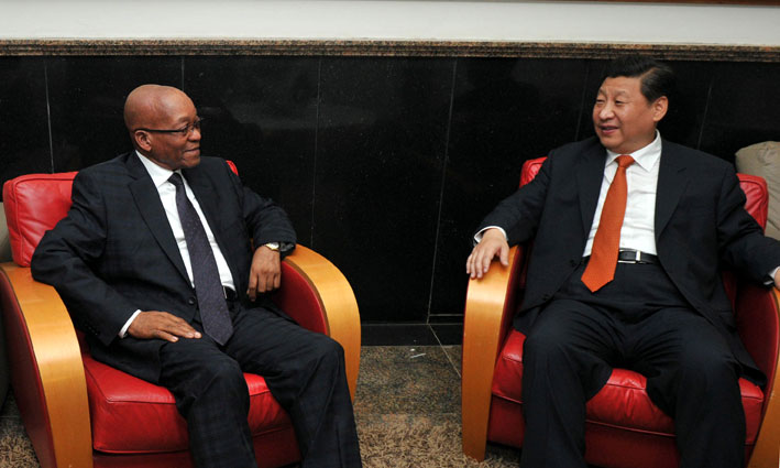 FILE PICTURE: President Jacob Zuma holds bilateral talks with his Chinese counterpart Xi Jinping ahead of the sixth Brics (Brazil, Russia, India, China and South Africa) summit in Fortaleza, Brazil, Monday, 14 July 2014. Picture: GCIS/SAPA