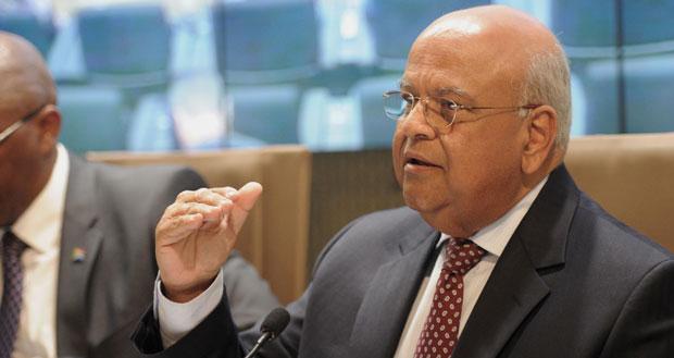Finance Minister Pravin Gordhan. Photo: GCIS