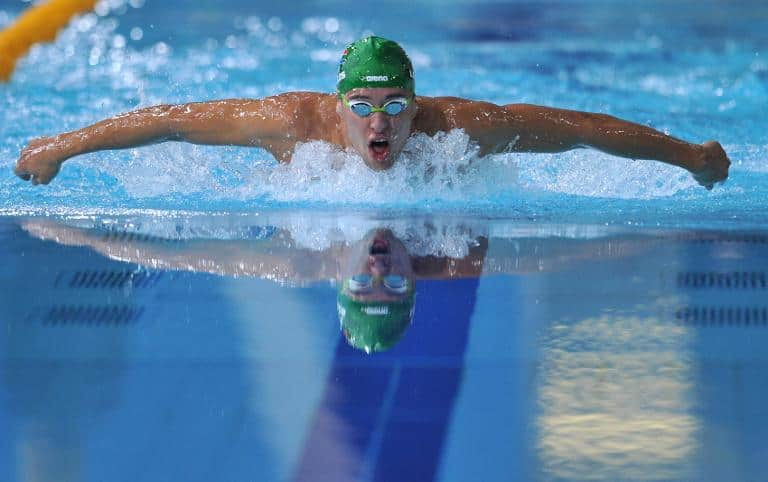 South Africa's Chad le Clos. AFP