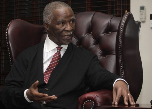 FILE PICTURE: Former president Thabo Mbeki. (Photo by Gallo Images / Business Day / Puxley Makgatho)