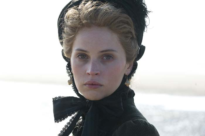 Felicity Jones gives a brilliant performance as Ellen Ternan in The Invisible Woman. Pictures: Supplied