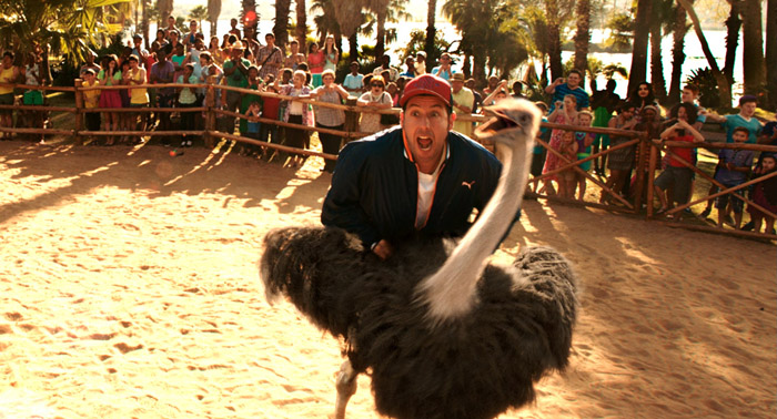 Adam Sandler's new film 'Blenders' includes some silly moments, despite being a more mature affair than his usual releases. Pictures: Supplied