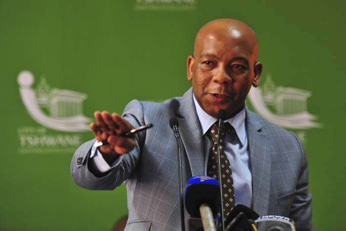 FILE PICTURE: Former Executive Mayor of Tshwane Kgosientso Ramokgopa. Picture: Christine Vermooten