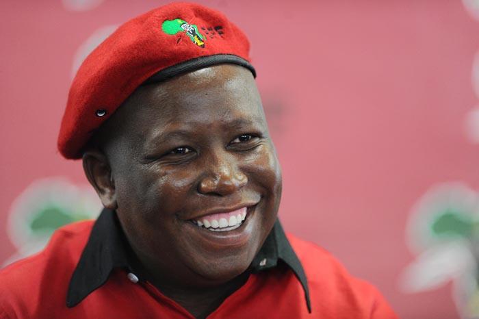 FILE PICTURE: Economic Freedom Fighters leader Julius Malema. Picture: Michel Bega