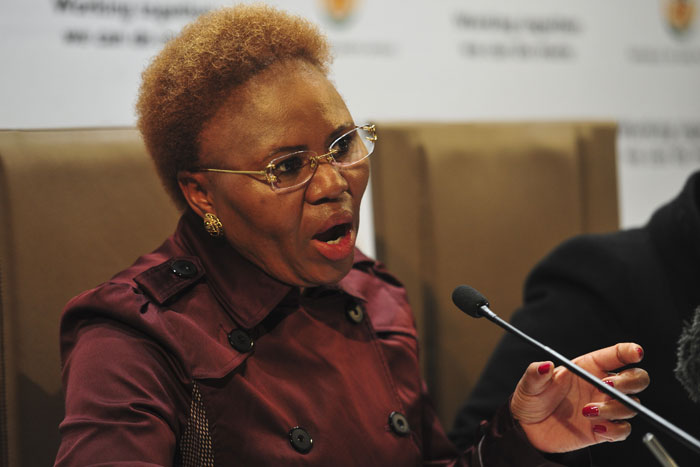 FILE PICTURE: Small Business Development Minister Lindiwe Zulu. Picture: Christine Vermooten