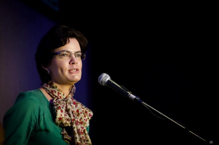 FILE PICTURE: IEC commissioner Raenette Taljaard (a former DA MP). (Photo by Gallo Images / Foto24 / Cornel van Heerden)