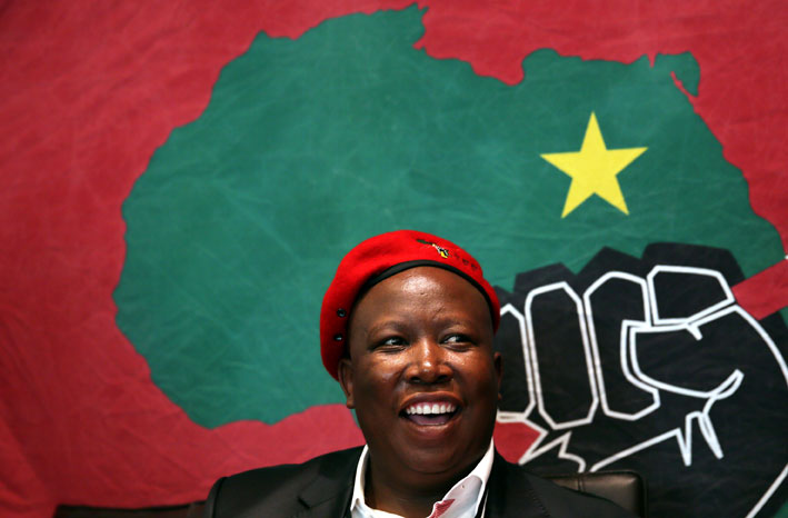 FILE PICTURE: Economic Freedom Fighters leader Julius Malema. Picture: Nardus Engelbrecht/SAPA