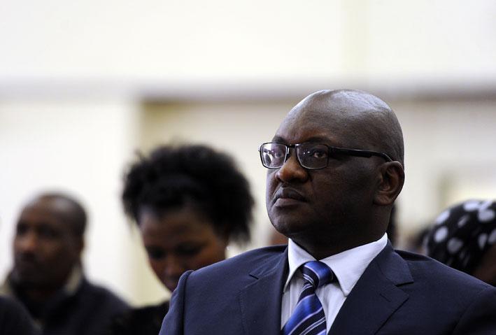FILE PICTURE: Gauteng premier David Makhura. Picture: Werner Beukes/SAPA