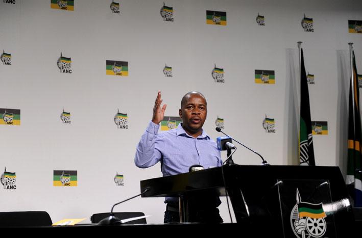 ANC mayoral candidate for the City of Ekurhuleni Mzwandile Masina. Picture: Werner Beukes/SAPA