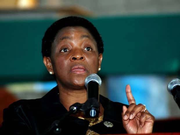Dlamini wipes a welfare grant deal with Post Office off the table