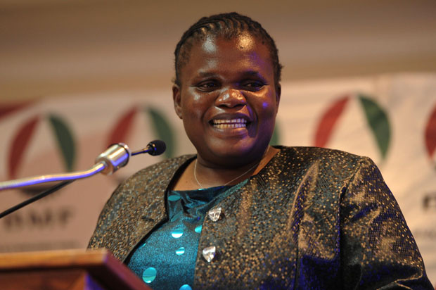 FILE PICTURE: Communications Minister Faith Muthambi. (Photo: GCIS)