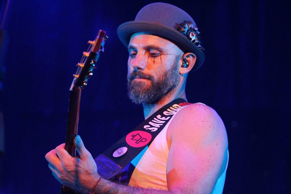 Kahn Morbee, lead singer of the Parlotones. File picture: Facebook.