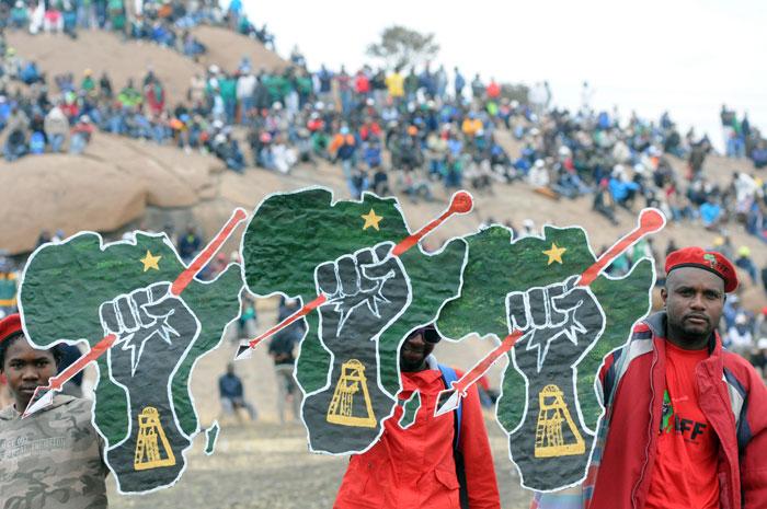It is shameful to take provincial address to Marikana, say EFF, DA