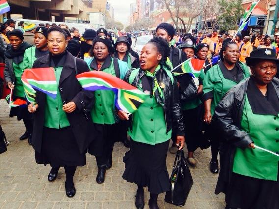 Members of the ANC Women's League. Picture: @POWER987News via Twitter