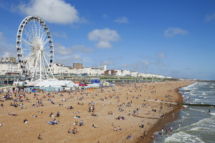 Many of Peter James' books are set in Brighton, where the author grew up. Picture: AFP