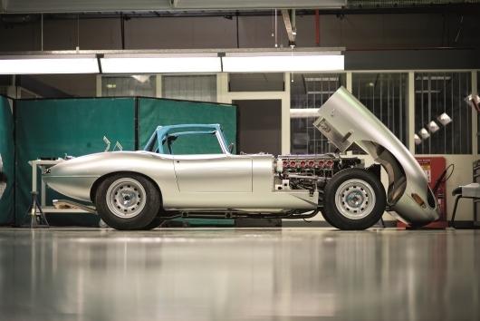 Jaguar Land Rover Special Operations Reveals 'New' Lightweight E-type Photographer: Jaguar