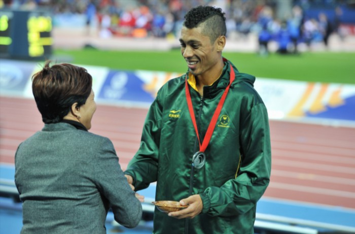 FILE PICTURE: Wayde van Niekerk. Picture: Roger Sedres/Gallo Images