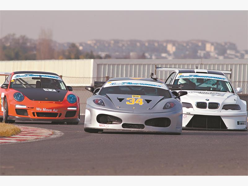 Saturday's G&H Transport Supercar races at Zwartkops should provide brilliant spectacle. Picture: RacePics.