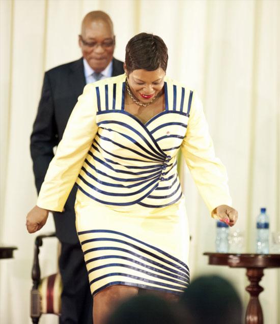 Use buttocks to defend zuma nomvula mokonyane the citizen