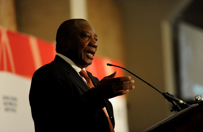Ramaphosa in Namibia for inauguration
