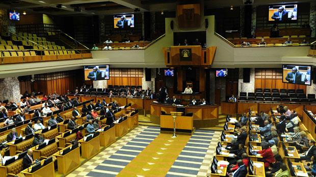 FILE PICTURE: Parliament.  Siyabulela Duda