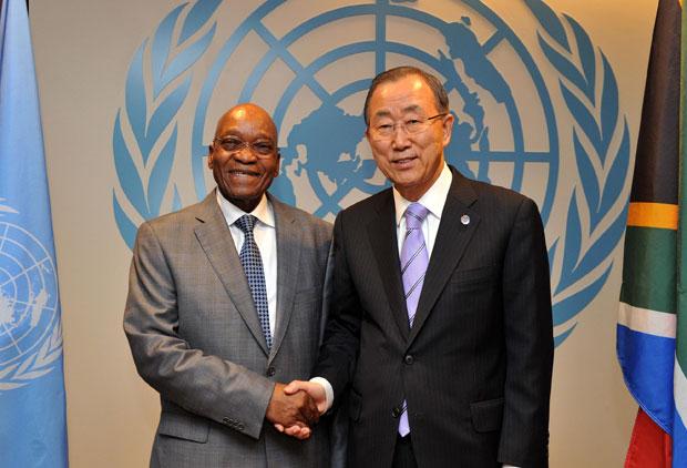 Underdevelopment a key driver of refugee crisis – Zuma