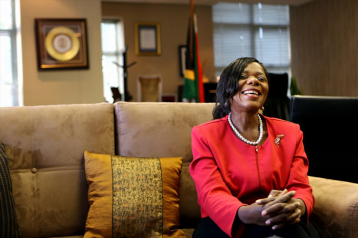 FILE PICTURE: Public Protector Thuli Madonsela. (Photo by Gallo Images / The Times / Moeletsi Mabe)