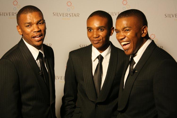 TRIO. Zwai, Phelo and Loyiso Bala. Picture: Gallo Images
