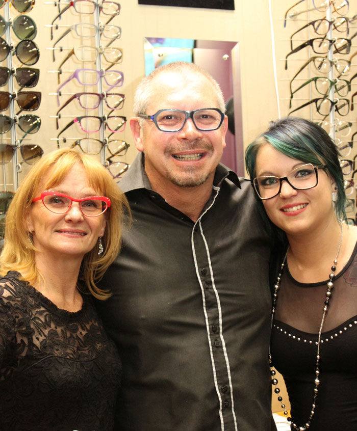 Larry Seymour Kotzen, owner of Eye Candy Optometrist at the launch of their summer eyewear range. PIcture: Supplied