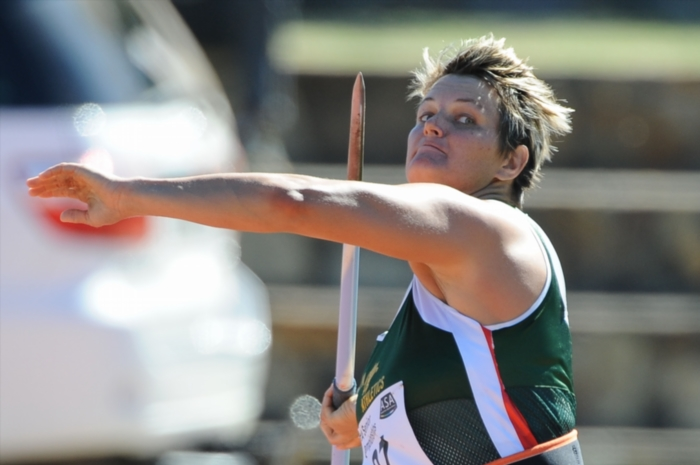 FILE PICTURE: Sunette Viljoen in the women's javelin during day 1 of the SA Senior Championship from Coetzenburg Stadium on April 12, 2013 in Stellenbosch, South Africa. Photo by Roger Sedres/Gallo Images