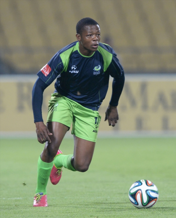 FILE PICTURE: Ndumiso Mabena of Platinum Stars (Photo by Duif du Toit/Gallo Images)