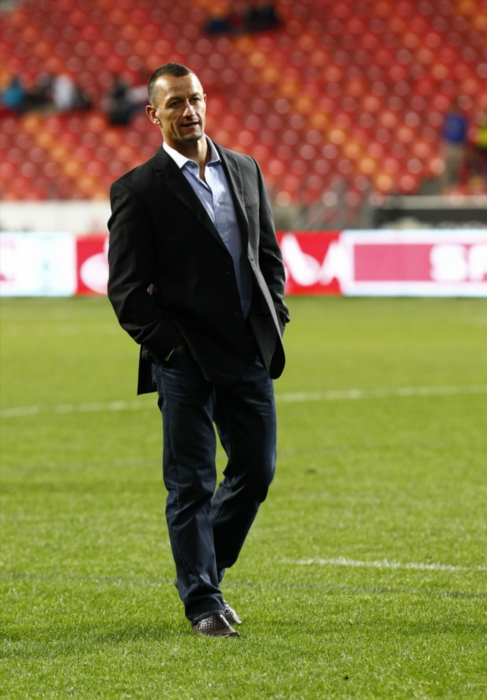 FILE PICTURE: EP Kings head coach Carlos Spencer during the Absa Currie Cup match between Eastern Province Kings and Xerox Golden Lions at Nelson Mandela Bay Stadium on August 30, 2014 in Port Elizabeth, South Africa. (Photo by Michael Sheehan/Gallo Images)