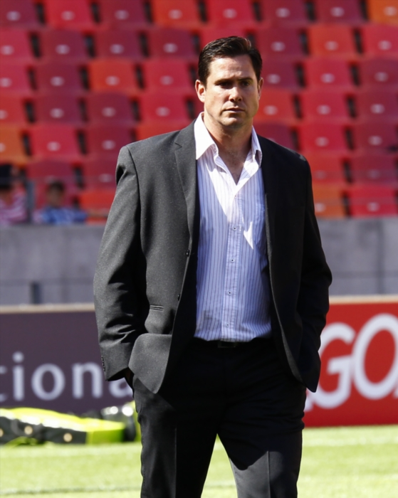 NOT AMUSED. Cheetahs head coach Rory Duncan. Picture: Gallo Images