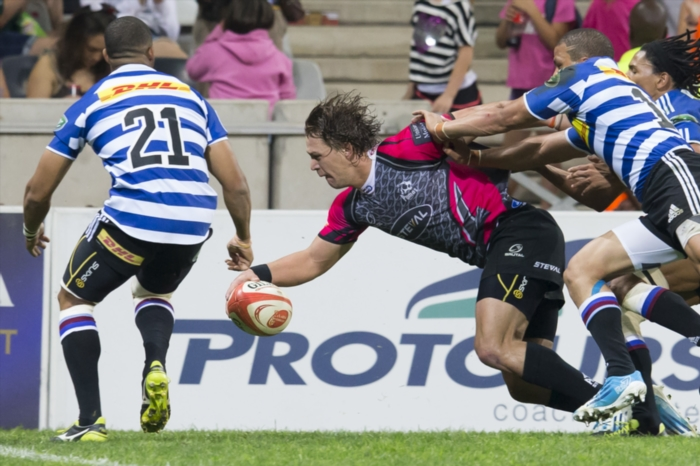 67fa01af6434 During the Absa Currie Cup match between Steval Pumas and DHL Western  Province at Mbombela Stadium