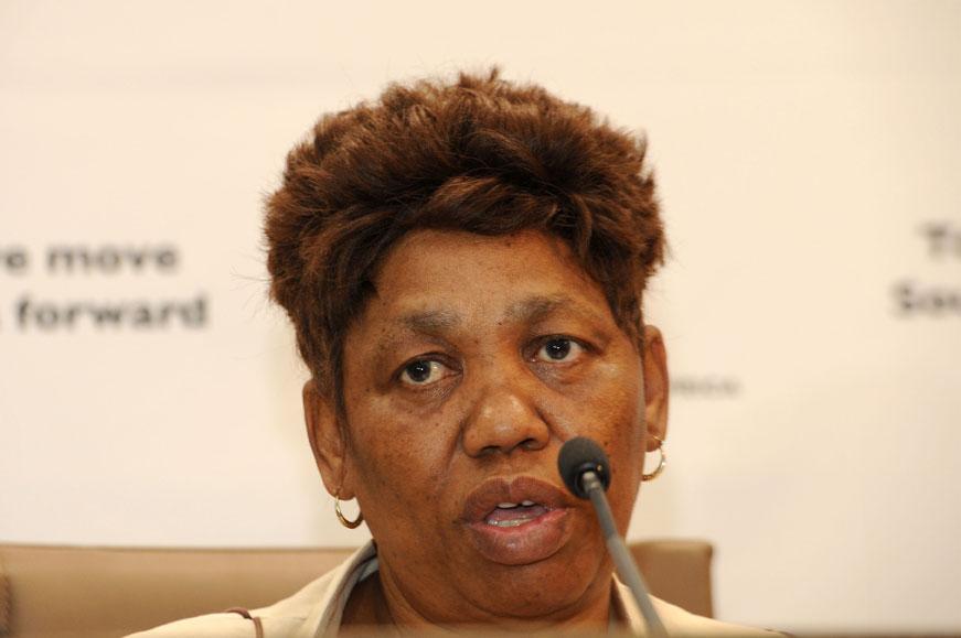 FILE PICTURE: ANC Women's League president Angie Motshekga. Picture: Refilwe Modise
