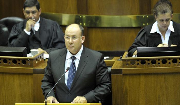 The DA's Athol Trollip. Photo: Gallo Images