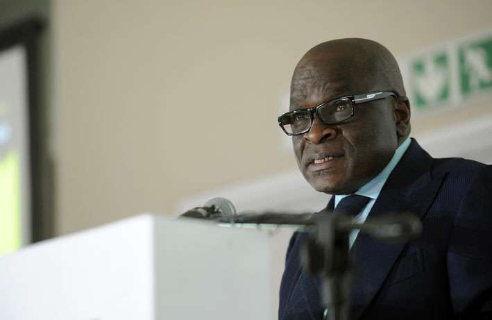FILE PICTURE: Ngoako Ramathlodi, Minister of Mineral Resources. Picture: Werner Beukes/SAPA