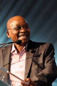 President Jacob Zuma. Picture: Nigel Sibanda
