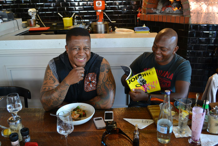 DJ Fresh and Euphonik. Picture: Kevin McLennan