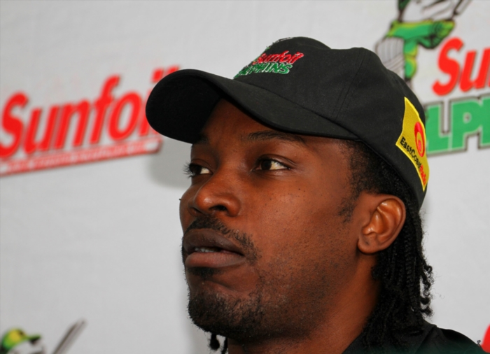 FILE PICTURE: Chris Gayle. Photo by Anesh Debiky / Gallo Images