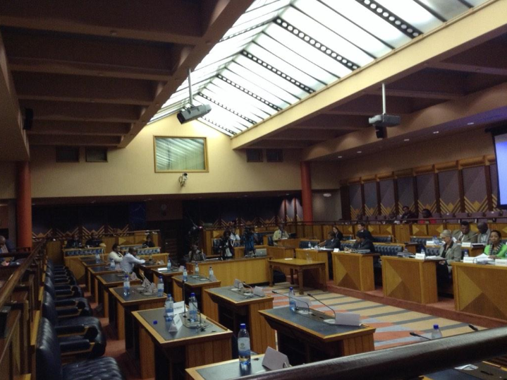FILE PICTURE: The Powers and Privileges committee sits again without the EFF. They walked out of the hearing yesterday. Picture: @citireporter twitter
