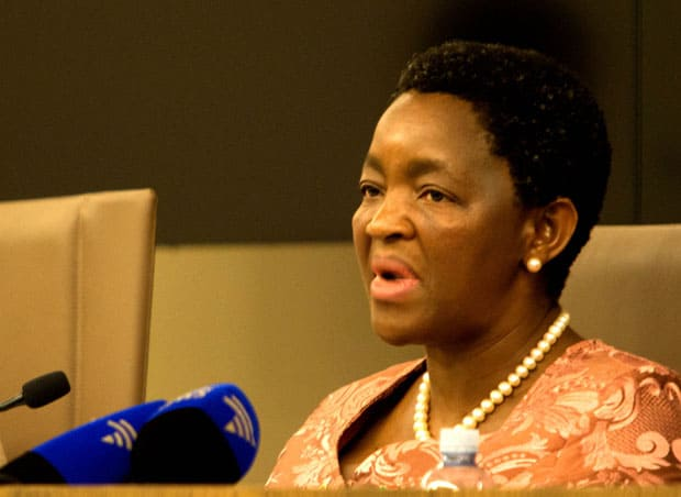 Don't talk sh*t about Bathabile, says her spokesperson
